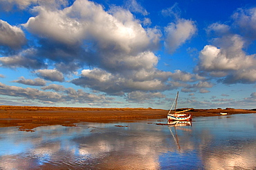 Burnham Overy Staith Norfolk winter morning