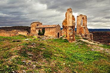Zorita de los Canes castle ruins Guadalajara Castilla la Mancha Spain