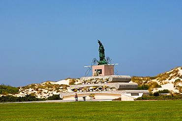 Nossa Senhora da Boa Viagem sculpture, Peniche, Leiria District, Pinhal Litoral, Portugal.