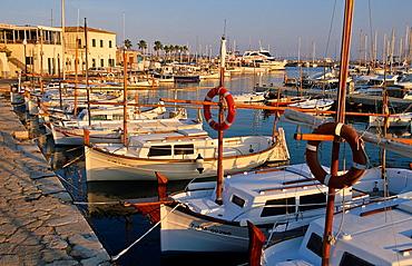 Pollensa port. Majorca island. Spain