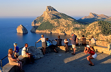 Formentor cape viewpoint, Majorca island. Spain