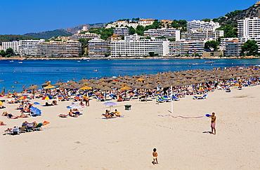 Santa Ponsa beach. Majorca island. spain