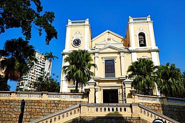 China, Macau, St Lawrence s church