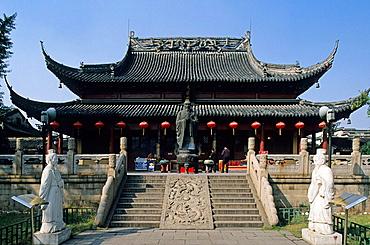 Confucius Temple, Fuzimiao, Nanjing (Nankin), Region Jiangsu, China.