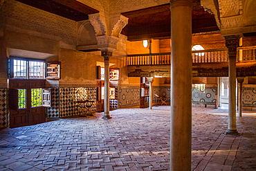 Mexuar Hall Mexuar Nazaries palaces Alhambra, Granada Andalusia, Spain