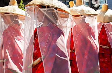 Women of Sanno Matsuri parade The parade begins and ends at HieJinja shrine, Nagata-cho Tokyo city, Japan, Asia