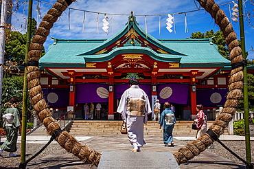 HieJinja shrine, Nagata-cho Tokyo city, Japan, Asia