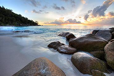 Rocks at Anse Georgette, Praslin Island, Seychelles