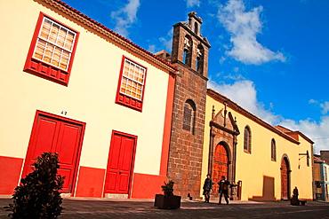 Old church in San Cristobal de La Laguna, Tenerife. Canary Islands, Spain
