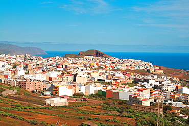 panoramic view of Santa Cruz de Tenerife. Canary Islands, Spain