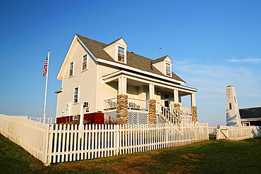 Keeper's House, Pemaquid Point Light, Bristol Maine