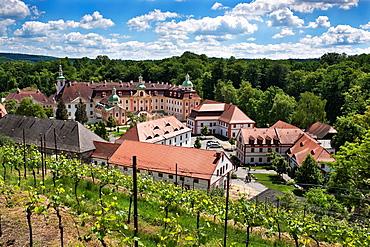 Cistercianmonastery St. Marienthal Ostritz, administrative district Goerlitz, Saxony, Germany, Europe