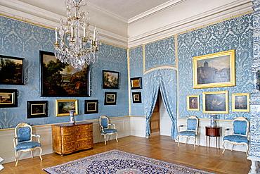 Rundale palace built in 18th century by Francesco Bartolomeo Rastrelli, Zemgale, Latvia