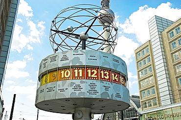 World Time Clock at Alexanderplatz Berlin, Germany