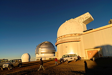 Hawaii-Canada-France, Gemini and UH 2 2 Telescopes on Mauna Kea Volcano, Big Island, Hawaii, USA