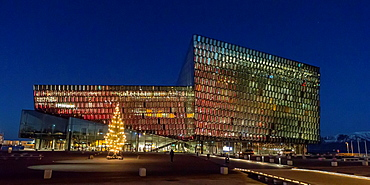 Harpa Concert Hall and Conference Center, Reykjavik, Iceland Situated on the boundary between land and sea, Harpa is a gleaming modern building reflecting both sky and harbor
