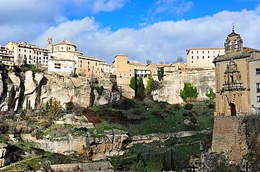 Convento de San Pablo in Huecar Gorge, Cuenca, Spain