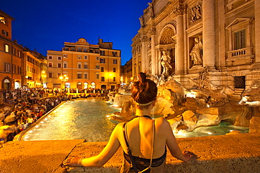 Trevi Fountain  Rome, Lacio  Italy