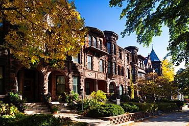 USA, Minnesota, Minneapolis, St  Paul, onetime residence of writer F  Scott Fitzgerald, 599 Summit Avenue