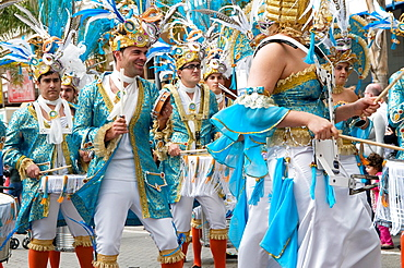 Spain, Canary Islands, Lanzarote island, Arrecife, Carnival.
