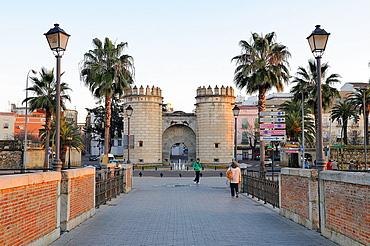 Puerta de Palmas Badajoz Extremadura Spain