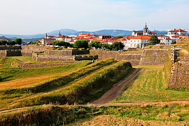 Fortaleza, Valenca do Minho, Viana do Castelo, Portugal.