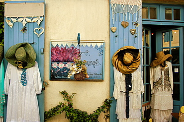 In the village of Talmont on the Gironde estuary, Charente-Maritime, Poitou-Charentes, France