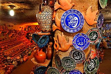 Sir Kupu Ceramik' pottery shop, Avanos, Cappadocia, Turkey
