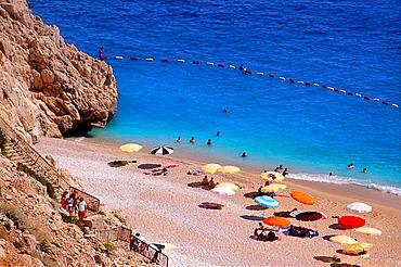 Turkey. Beach near Kas.