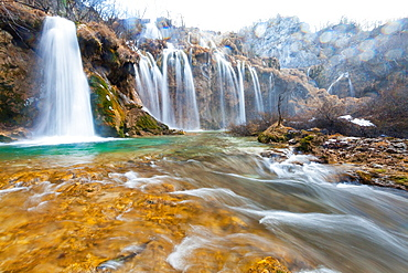 Plitvice Lakes National Park, Croatia, Europe.