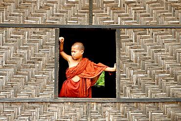 Buddhist monastery Lashio area Shan state Burma Republic of the Union of Myanmar.