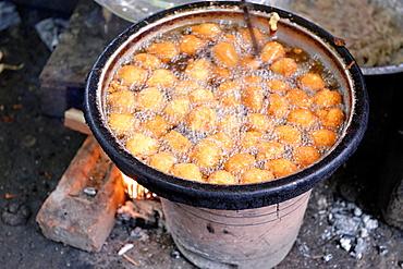 Burmese donut Burma Republic of the Union of Myanmar.