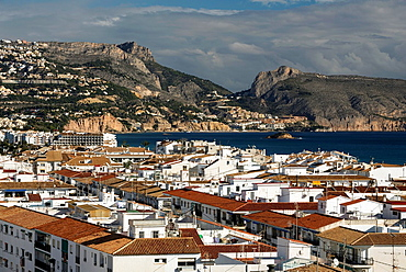El Mascarat area from Altea, Alicante province, Costa Blanca, Spain