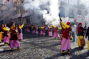 Moors and Christians Festival, Alcoy, Alicante, Spain