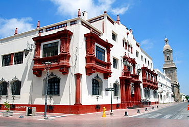 Building of the Courts of Justice in La Serena Chile