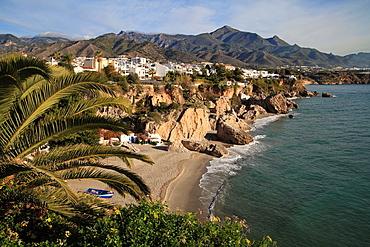 Nerja Costa del Sol Malaga province, Andalusia, Spain.