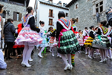 Carnival of Bielsa A traditional festival that has been taking place over the centuries surviving even the prohibition during Franco's dictatorship Bielsa, Pyrenees, Aragon, Spain