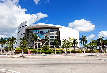 The American Airlines Arena, Miami, USA