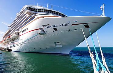 A Cruise Ship in Key West, Florida, USA