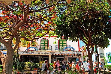 Mogan municipality in Gran Canaria island