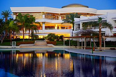 the Ritz-Carlton resort at dusk,Sharm El Sheikh,Egypt