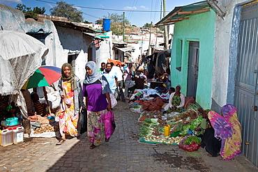 Street Scene, Jugol Old Town Harar, Ethiopia
