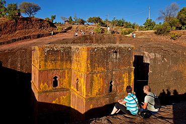 Bet Giyorgis Church, Lalibela, Ethiopia