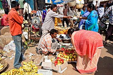 City Fruit and Vegetable Market, Bangalore, Southern Karnataka, India