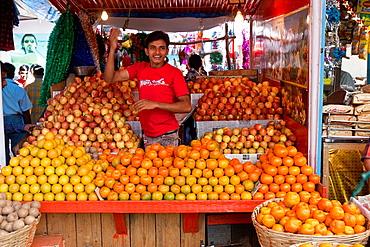 Market Scene, Mapusa Market, Goa, India