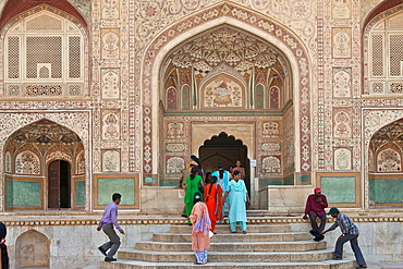 Ganesh Gate, Ganesh Pol, The Amber Fort, Jaipur, Rajasthan, India