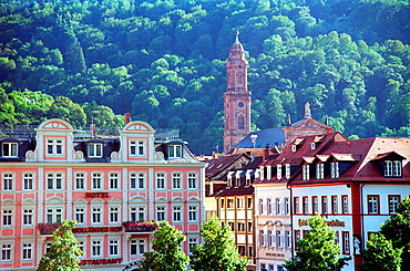 Heidelberg skyline Germany