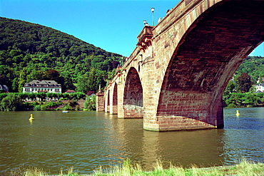 Karl Theodor Bridge over the Neckar River Heidelberg