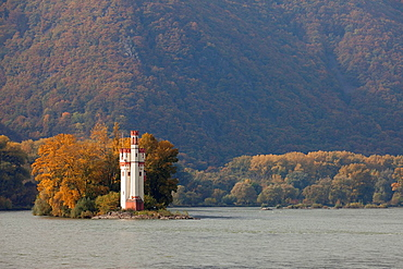 Mouse Tower, Upper Middle Rhine Valley, World Heritage Site, Bingen, Rhineland-Palatinate, Germany