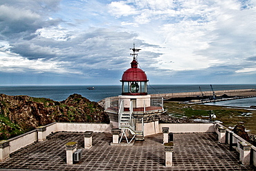 Lighthouse Gijon, Asturias, Spain